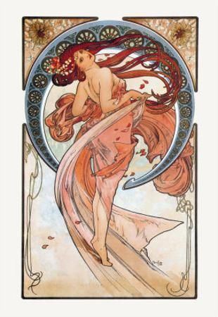 Dance by Alphonse Mucha