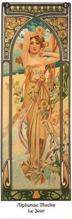 Day by Alphonse Mucha