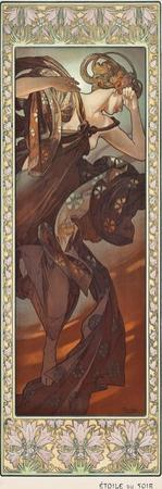 Evening Star (Etoile Du Soir), 1902 by Alphonse Mucha