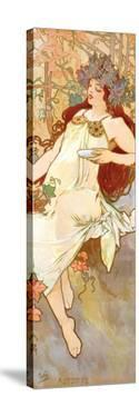 Fall by Alphonse Mucha