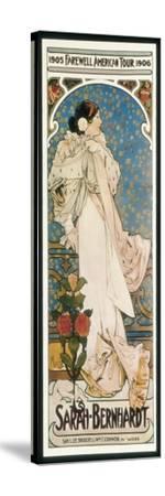 Farewell American Tour of Sarah Bernhardt by Alphonse Mucha