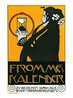 Fromme Calendar Printers by Alphonse Mucha