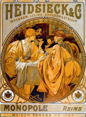 Heidsieck by Alphonse Mucha