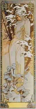 Jahreszeiten: Der Winter, 1900 by Alphonse Mucha