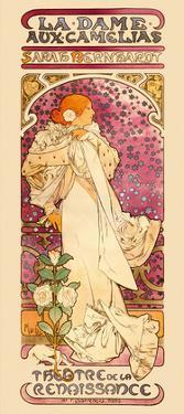 La Dame aux Came?lias Art Nouveau, La Belle Époque by Alphonse Mucha