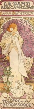 La Dame Aux Camelias, 1896 by Alphonse Mucha