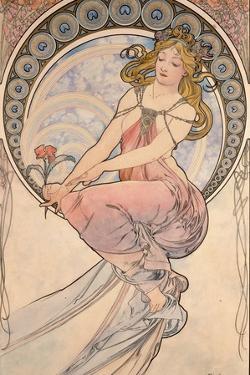 La Peinture, 1898 by Alphonse Mucha