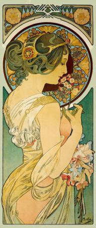 La Primevere by Alphonse Mucha