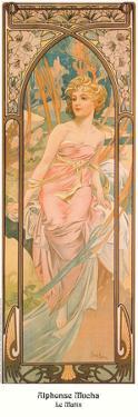 Le Matin by Alphonse Mucha