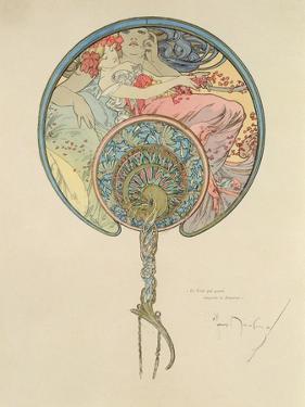 Le Vent Qui Passe Emporte La Jeunesse, 1899 by Alphonse Mucha