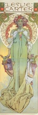 Leslie Carter (1862-1937), 1908 by Alphonse Mucha