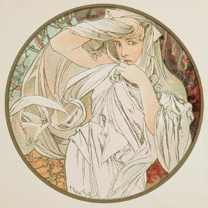 March, 1899 (Detail) by Alphonse Mucha