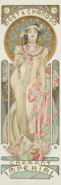 Moet and Chandon: Dry Imperial, 1899 by Alphonse Mucha