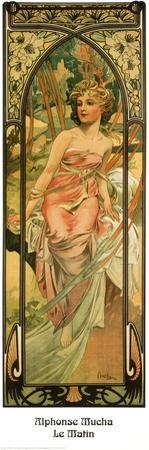 Morning by Alphonse Mucha