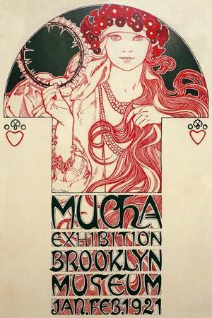 Mucha Exhibition, Brooklyn Museum, 1920