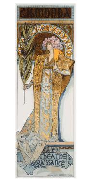 Mucha Nouveau Bernhardt Gismonda by Alphonse Mucha