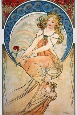 Mucha: Poster, 1898 by Alphonse Mucha