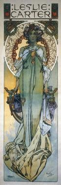 Mucha: Theatrical Poster by Alphonse Mucha