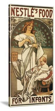 Nestle's Food for Infants by Alphonse Mucha