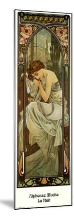 Night by Alphonse Mucha