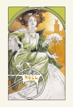 Noel 1903 by Alphonse Mucha