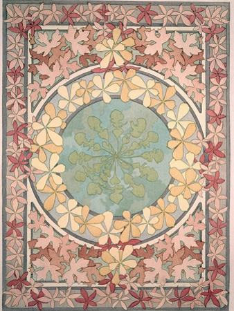 Plate 28 from 'Documents Decoratifs', 1902 by Alphonse Mucha