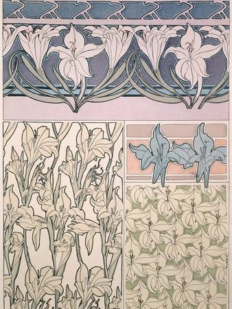Plate 36 from 'Documents Decoratifs', 1902