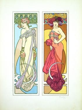 Plate 45 from 'Documents Decoratifs', 1902 by Alphonse Mucha
