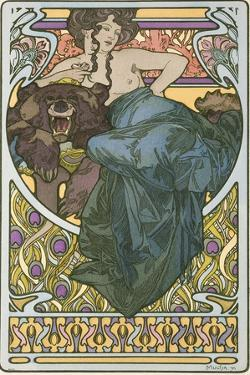 Plate 47 from the Book 'Documents Decoratifs', Published in 1902 by Alphonse Mucha