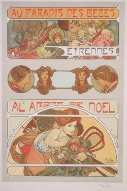 Plate 56 from 'Documents Decoratifs', 1902 by Alphonse Mucha