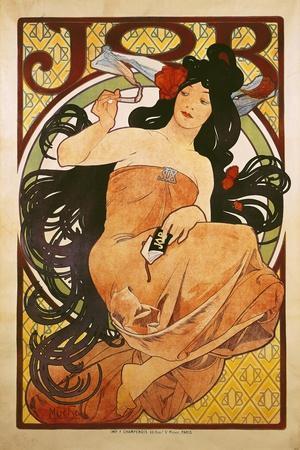 Poster Advertising 'Job', 1898