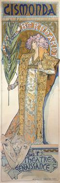 Poster For 'Gismonda', 1894 by Alphonse Mucha