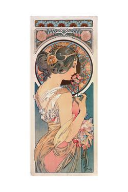 Primrose, 1899 by Alphonse Mucha