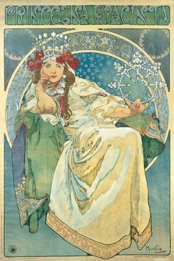 Princess Hyacinth, 1911 by Alphonse Mucha
