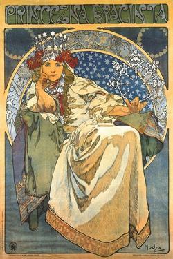 Princess Hyacinth by Alphonse Mucha