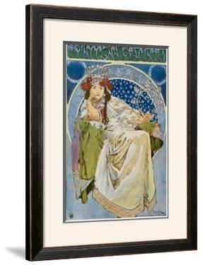 Princezna Hyacinta by Alphonse Mucha