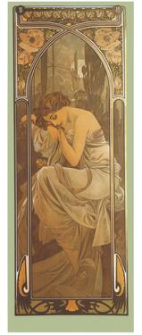 Repos de la Nuit by Alphonse Mucha