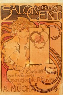 Salon Des Cent, 1897 by Alphonse Mucha
