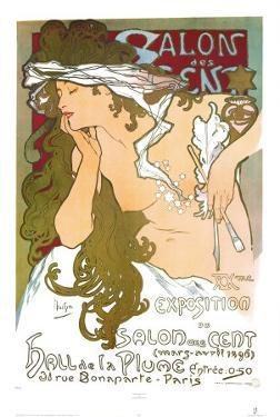 Salon des Cent by Alphonse Mucha