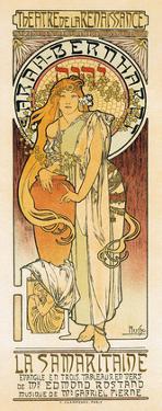 Samaritaine, Art Nouveau, La Belle Époque by Alphonse Mucha