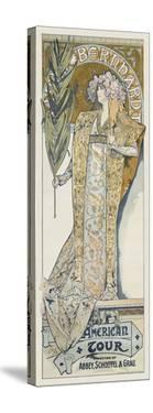 Sarah Bernhardt, 1894 by Alphonse Mucha