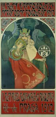 Sokol Festival by Alphonse Mucha