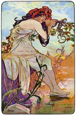 Summer, 1899 by Alphonse Mucha