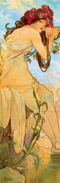 Summer by Alphonse Mucha