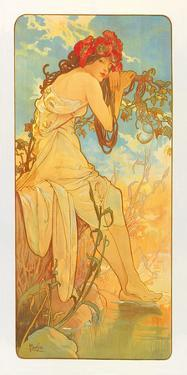 Summer by Alphonse Mucha