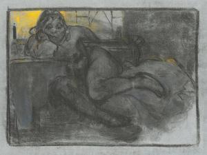 The Absinthe Drinker, 1900-1905 by Alphonse Mucha