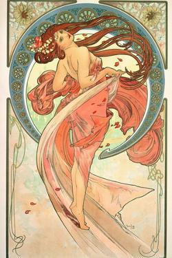 The Arts: Dance, 1898 by Alphonse Mucha