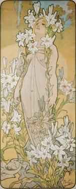 The Lily, 1898 by Alphonse Mucha