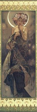 The Moon and the Stars: The Moon, 1902 by Alphonse Mucha