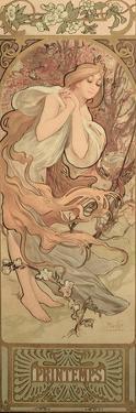 The Seasons: Spring, 1897 by Alphonse Mucha
